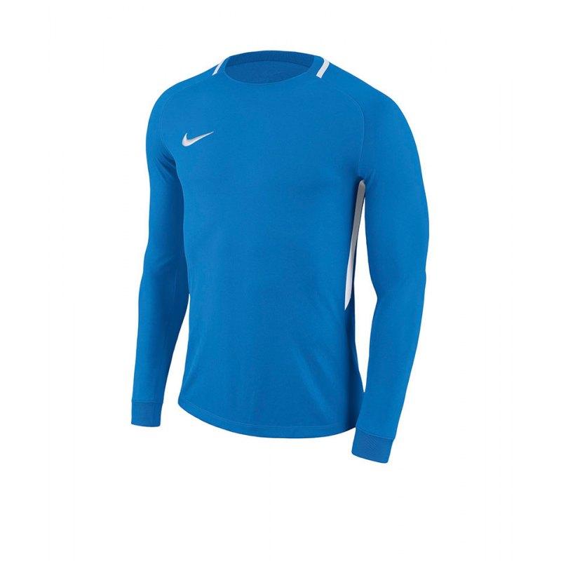 Nike Park III Goalie Torwarttrikot Kids Blau F406 - blau