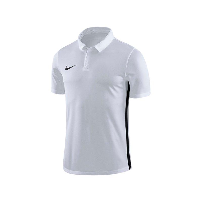 Nike Academy 18 Football Poloshirt Weiss F100 - weiss