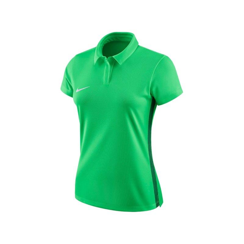 Nike Academy 18 Football Poloshirt Damen F361 - gruen