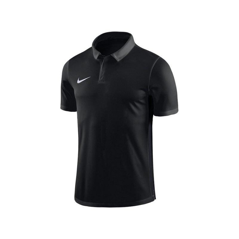 Nike Academy 18 Football Poloshirt Kids F010 - schwarz