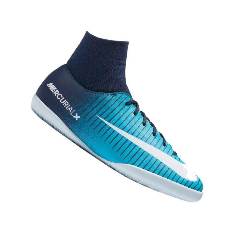 Nike Jr Mercurial X Victory VI DF IC Kids F404 - blau