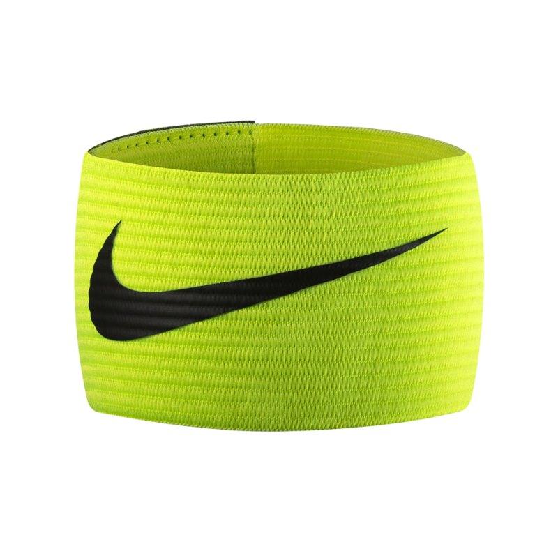 Nike Kapitänsbinde Futbol Armband 2.0 Gelb F710 - gelb