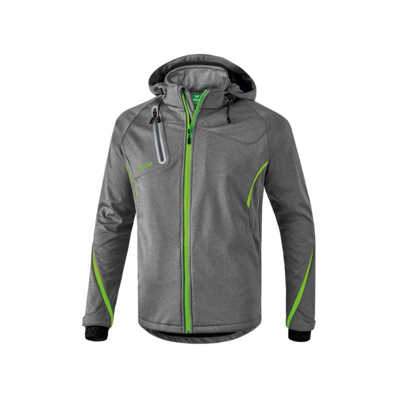 Erima Active Wear Function Softshell Jacke Grau - grau