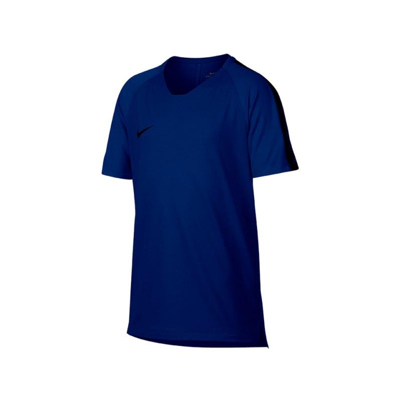 Nike Breathe Squad Top kurzarm Kids F405 - blau