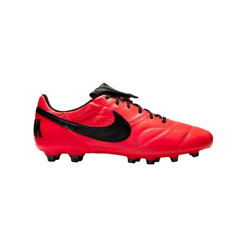 Nike Premier II FG Rot Schwarz Gelb F607 - rot