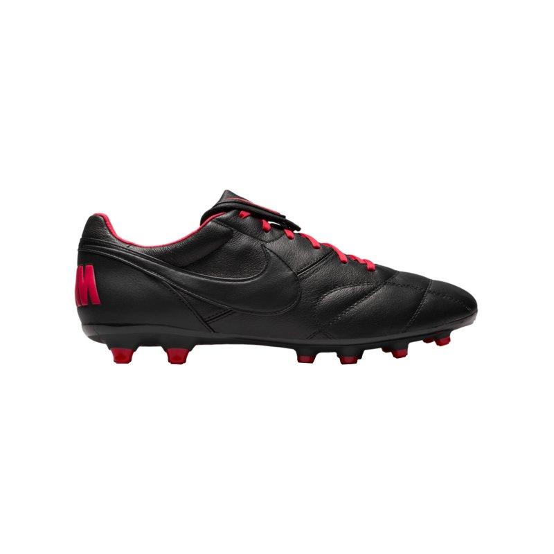 Nike Premier II FG Schwarz Rot F016 - schwarz