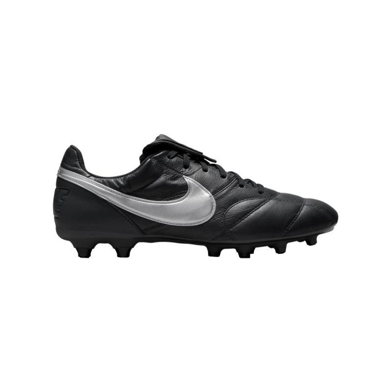 Nike The Premier II FG Schwarz Silber F010 - grau