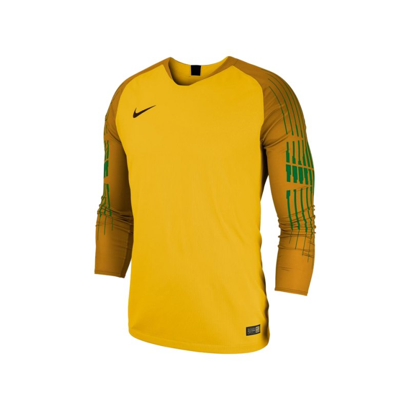 Nike Promo Torwarttrikot langarm Gelb F719 - gelb