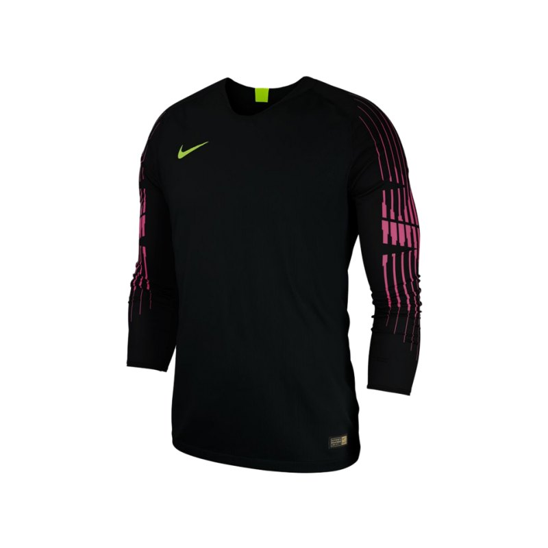 Nike Promo Torwarttrikot langarm Schwarz F010 - schwarz