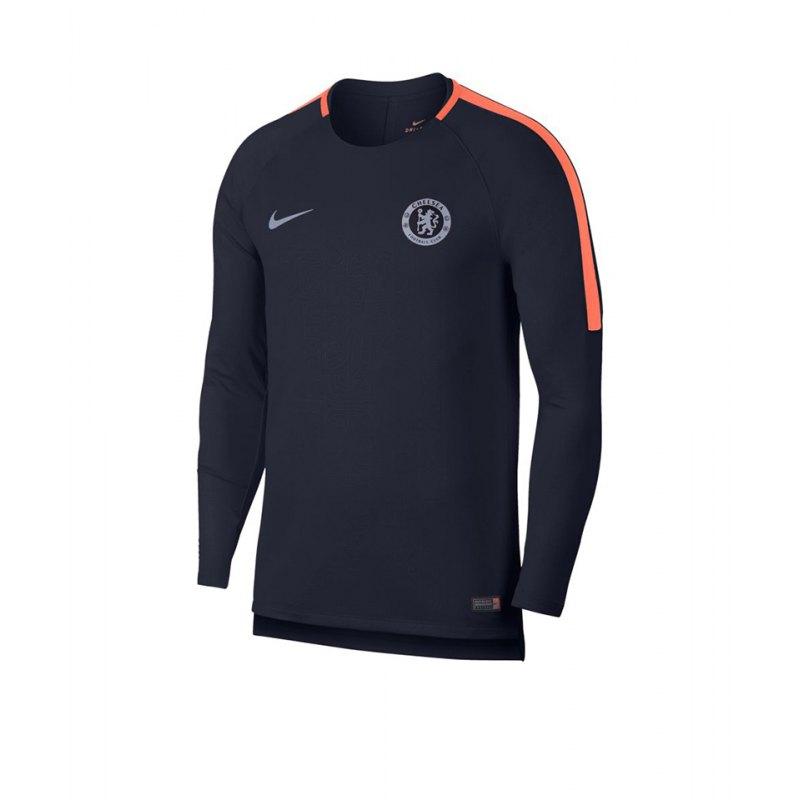 Nike Chelsea London FC Dry Squad Sweatshirt F455 - blau