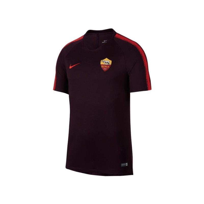 Nike AS Rom Breathe Squad T-Shirt Rot F659 - rot