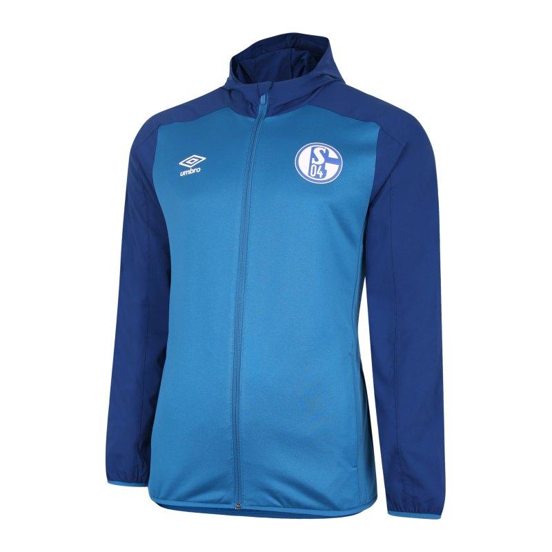 Umbro FC Schalke 04 Kapuzenjacke Blau FJRF - blau