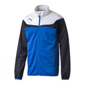 PUMA Polyesterjacke Esito 3 Tricot Jacket Kinder F02 - blau