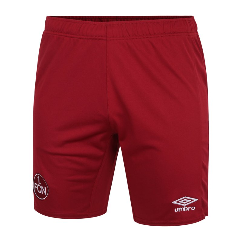 Umbro 1. FC Nürnberg Short Away Kids 2020/2021 Rot - rot