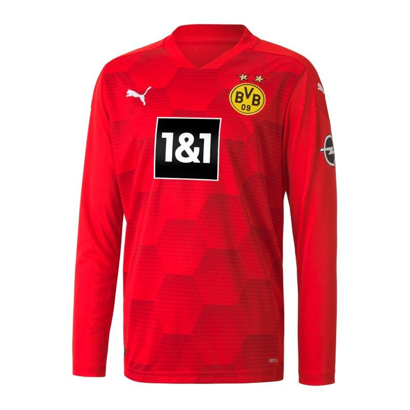 PUMA BVB Dortmund Torwarttrikot 2020/2021 Kids Rot F06 - rot