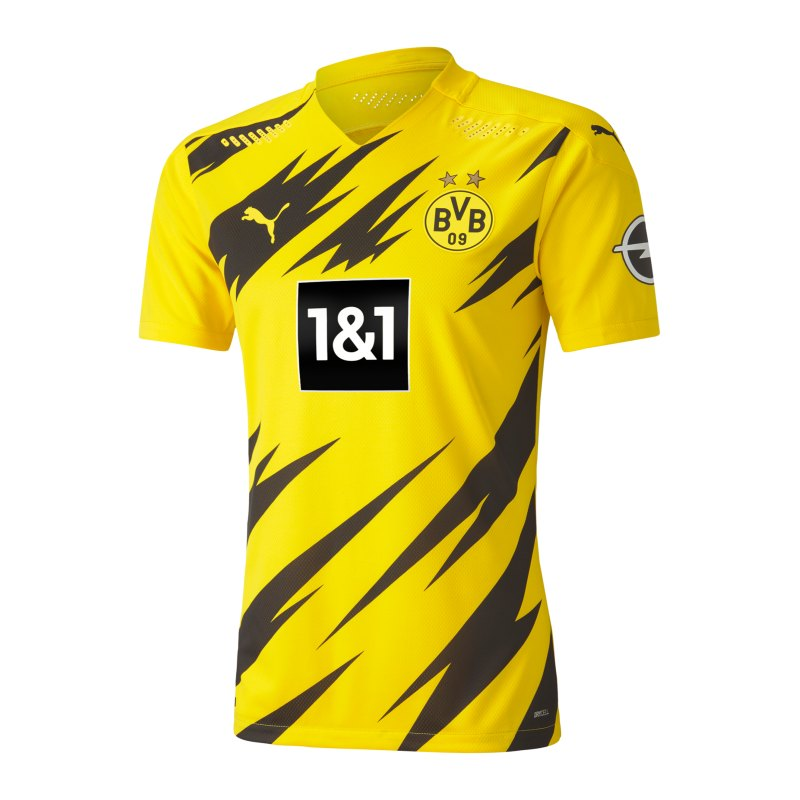PUMA BVB Dortmund Auth. Trikot Home 2020/2021 Gelb F01 - gelb