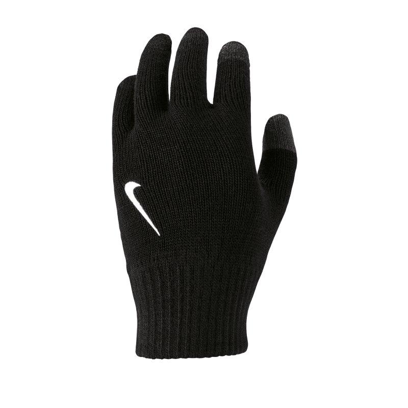 Nike Knitted Handschuhe Kids Schwarz F091 - schwarz