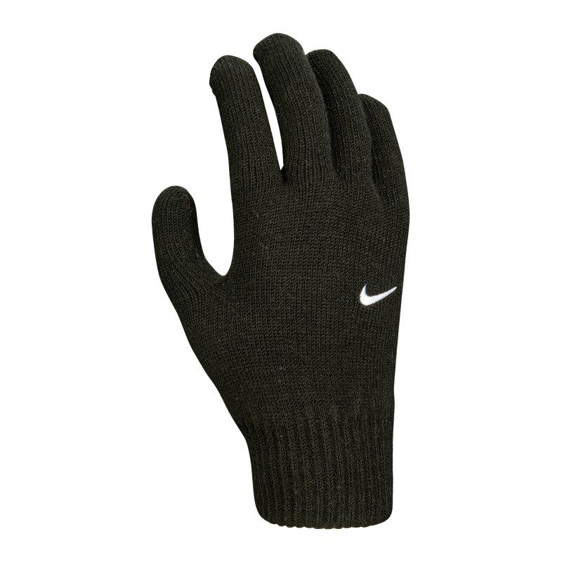 Nike Swoosh Knit Spielerhandschuhe 2.0 F010 - schwarz