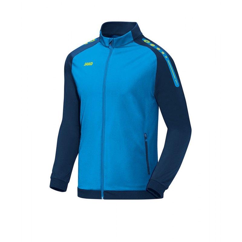 Jako Polyesterjacke Champ Blau F89 - blau