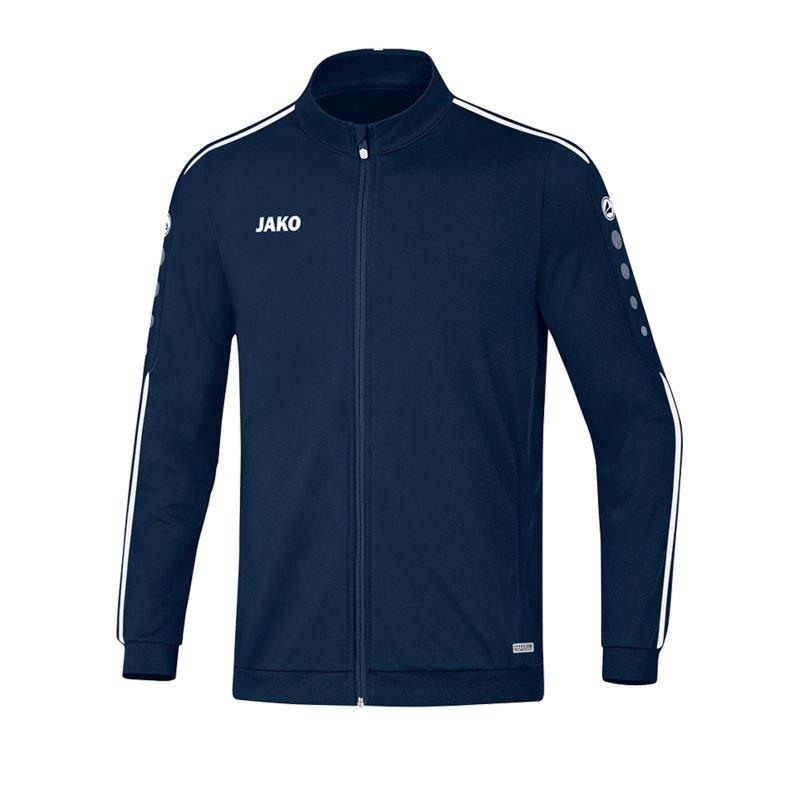 Jako Striker 2.0 Polyesterjacke Blau Weiss F99 - Blau