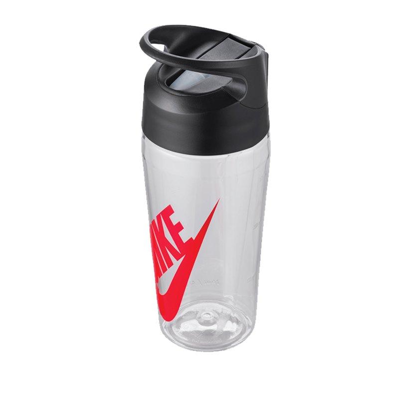 Nike TR Hypercharge Straw Bottle 16 OZ F984 - grau