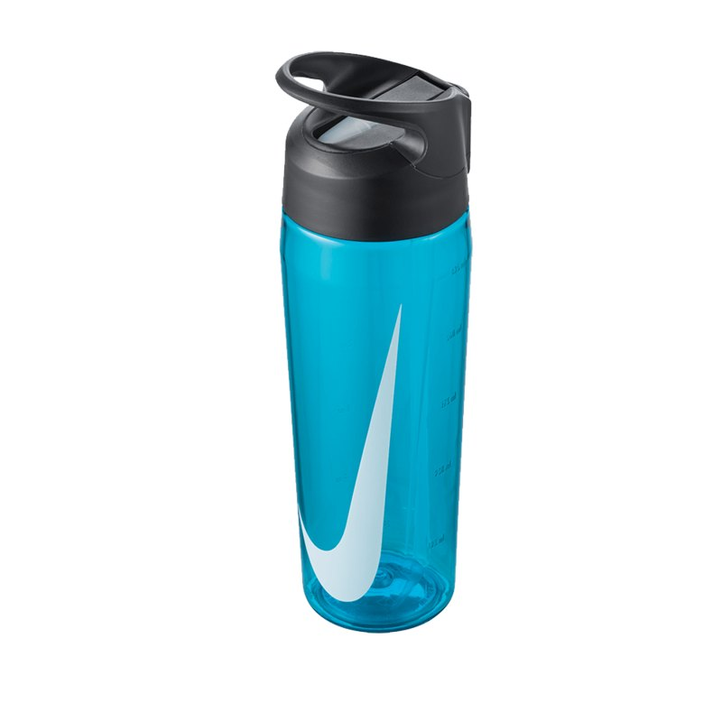 Nike TR Hypercharge Straw Bottle 709ml Blau F430 - blau