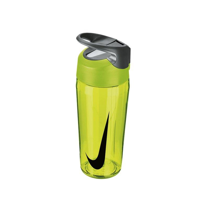 Nike TR Hypercharge Straw Bottle 709ml Gelb F739 - gelb