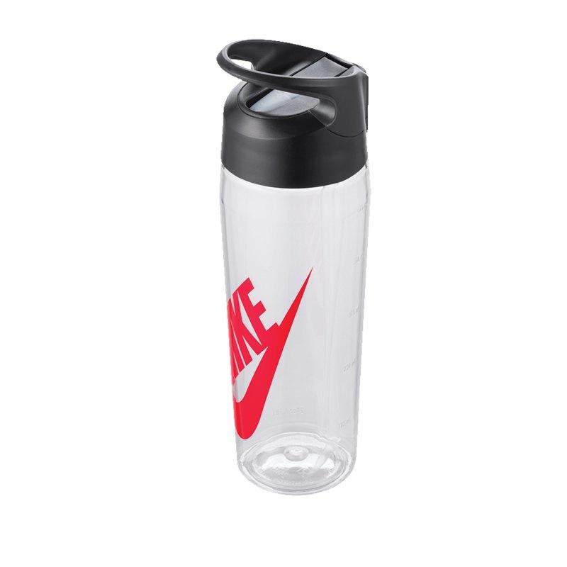 Nike TR Hypercharge Straw Bottle 709ml Grau F984 - grau