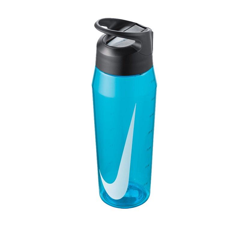 Nike TR Hypercharge Straw Bottle 946ml Blau F430 - blau