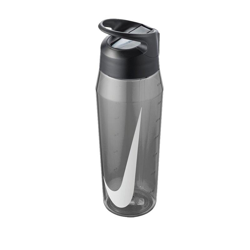 Nike TR Hypercharge Straw Bottle 946ml Grau F025 - grau