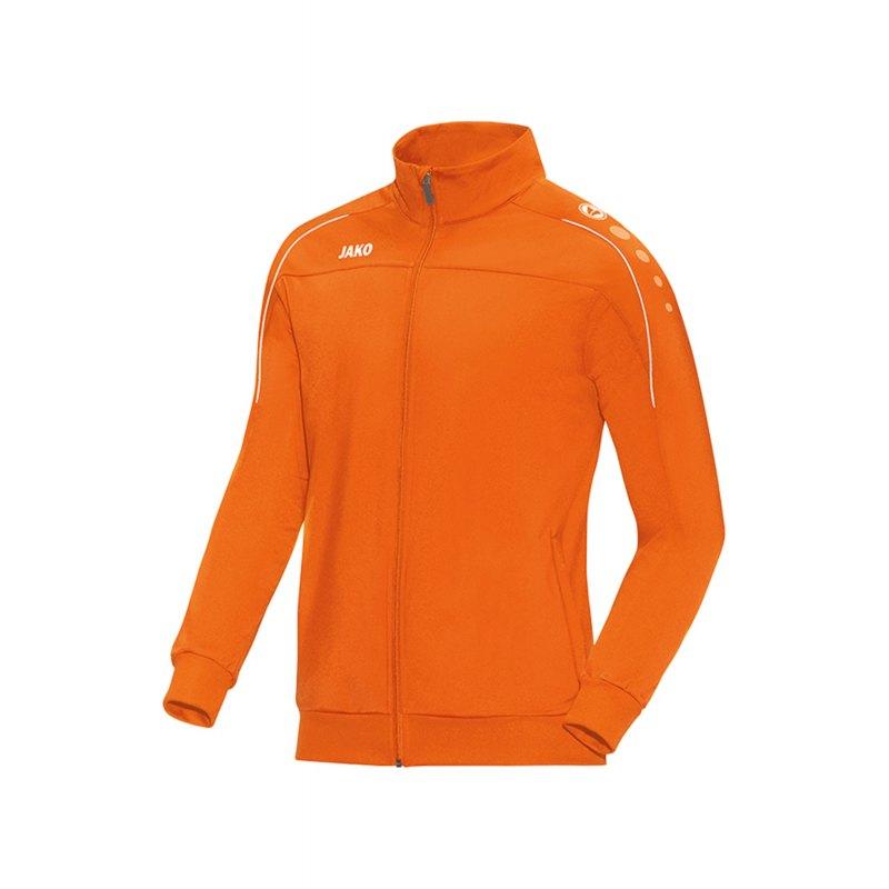 Jako Classico Polyesterjacke Orange F19 - Orange