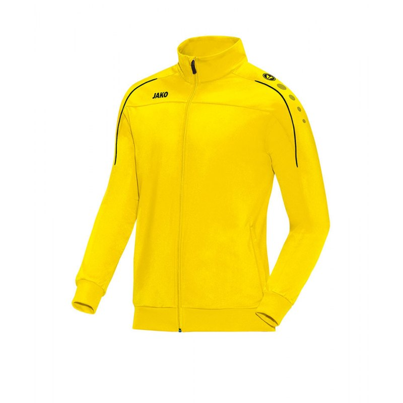 Jako Polyesterjacke Classico Gelb Schwarz F03 - gelb