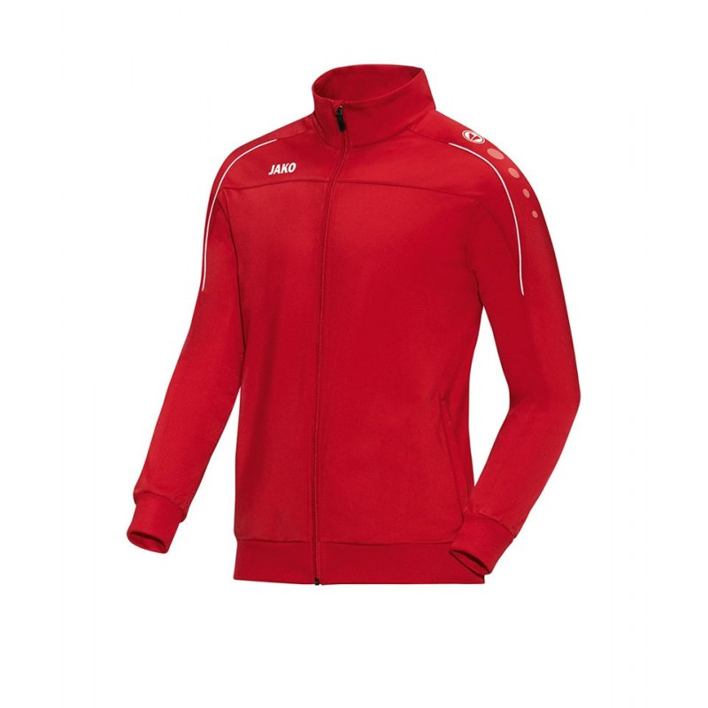 Jako Polyesterjacke Classico Rot Weiss F01 - rot