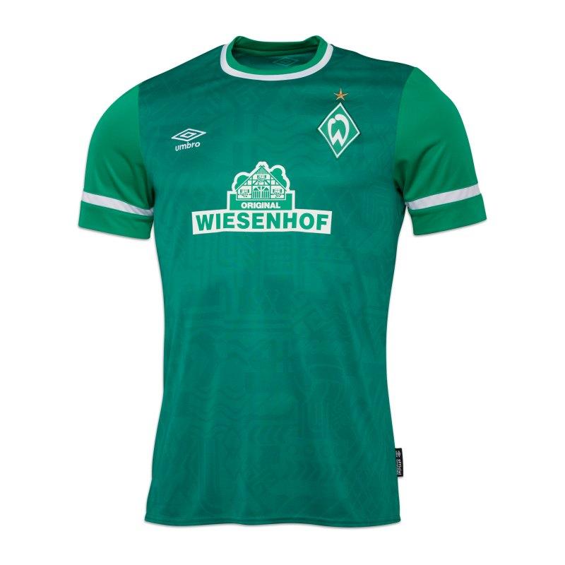 Umbro SV Werder Bremen Trikot Home 2021/2022 Grün - gruen
