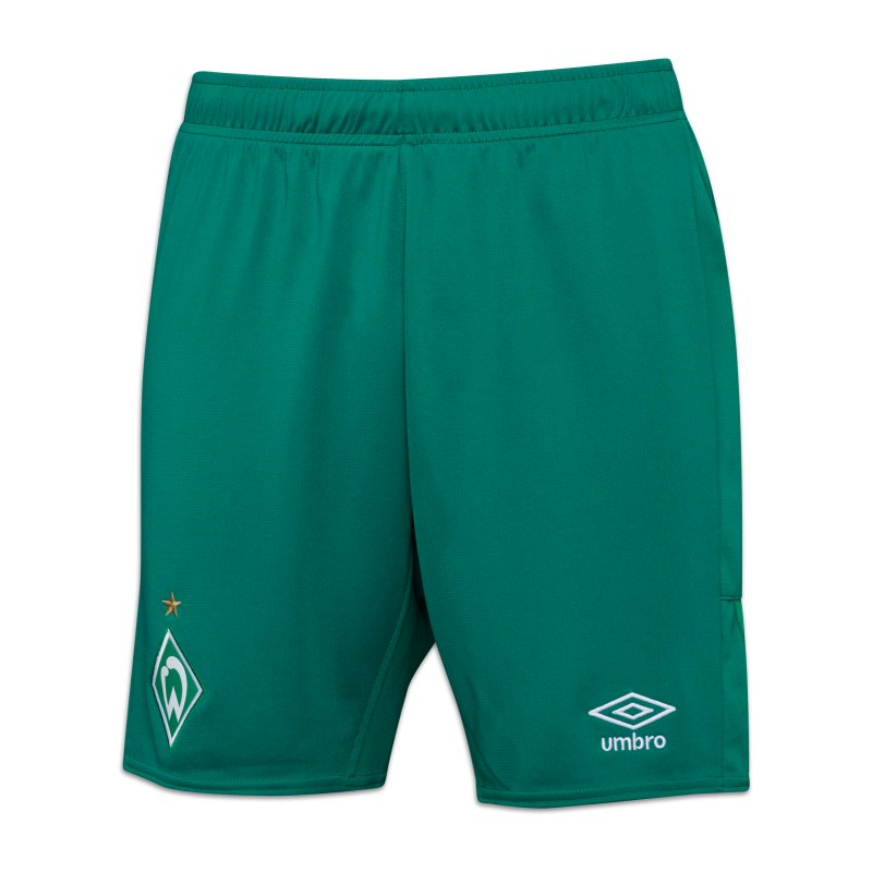 Umbro SV Werder Bremen Short Away 2021/2022 Kids Grün - gruen