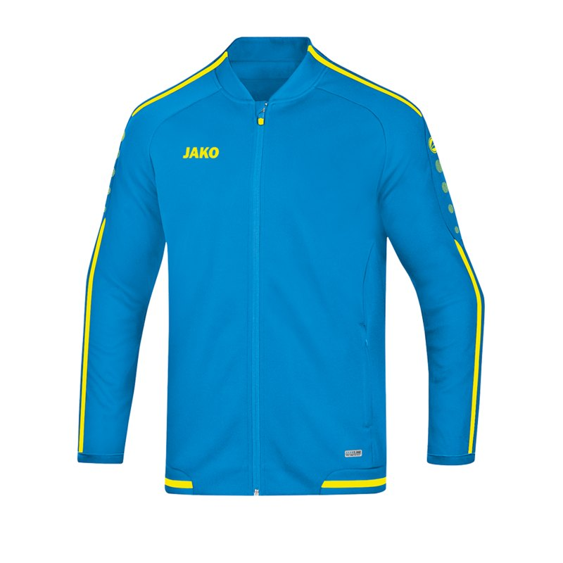 Jako Striker 2.0 Freizeitjacke Damen Blau Gelb F89 - Blau