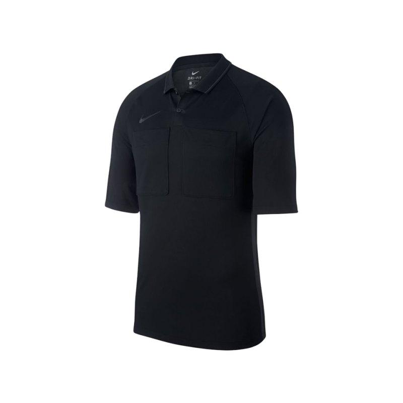 Nike Dry Referee Trikot kurzarm Schwarz F010 - schwarz