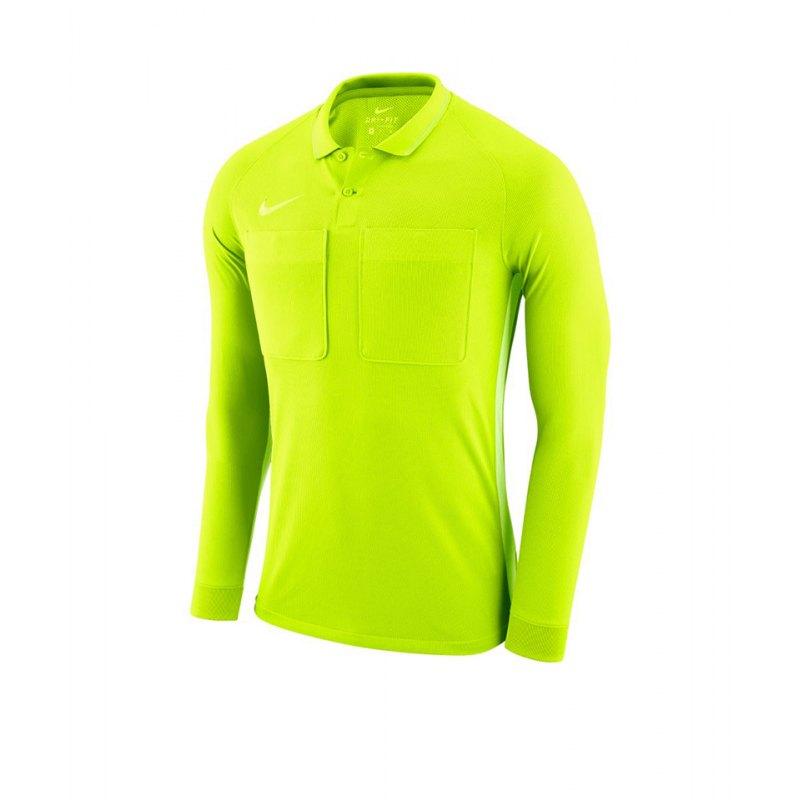 Nike Dry Referee Trikot langarm Gelb F702 - gelb