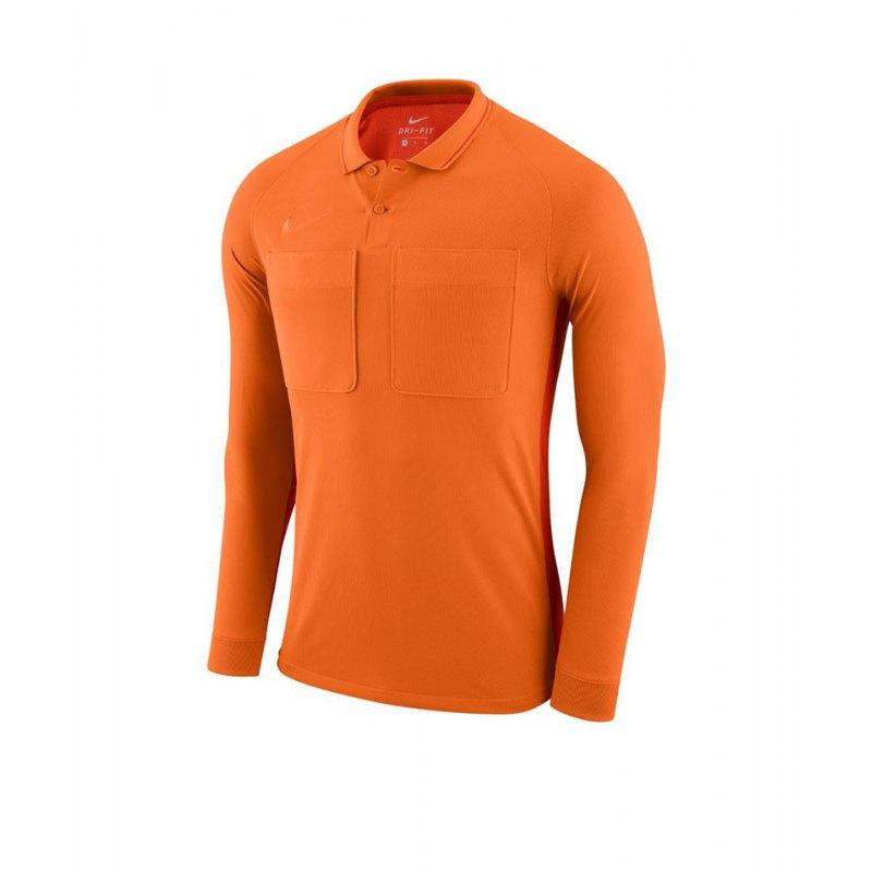 Nike Dry Referee Trikot langarm Orange F806 - orange