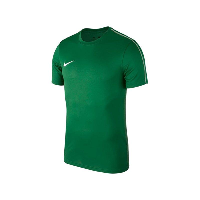 Nike Park 18 Football Top T-Shirt Grün F302 - gruen