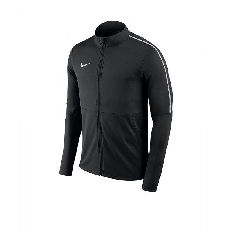 Nike Park 18 Football Trainingsjacke Schwarz F010 - schwarz