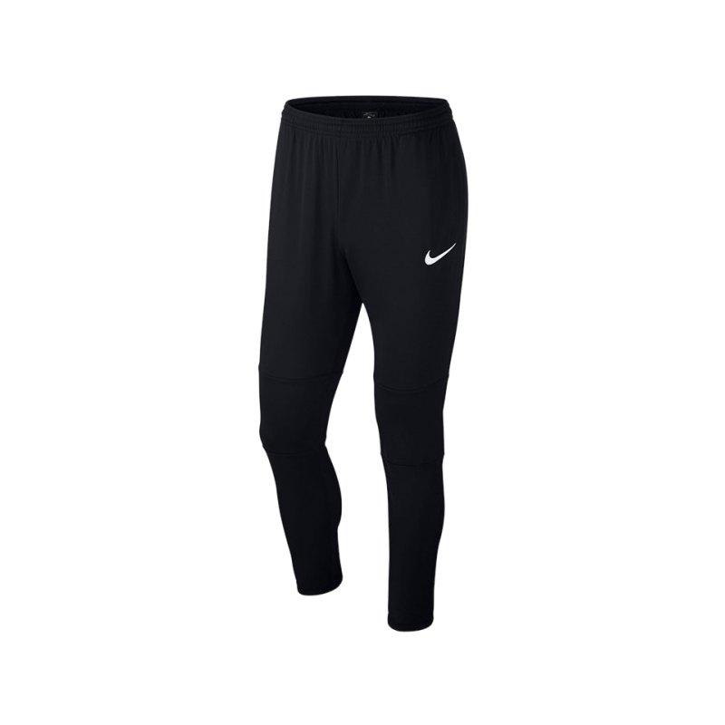 Nike Park 18 Knit Pant Schwarz F010 - schwarz
