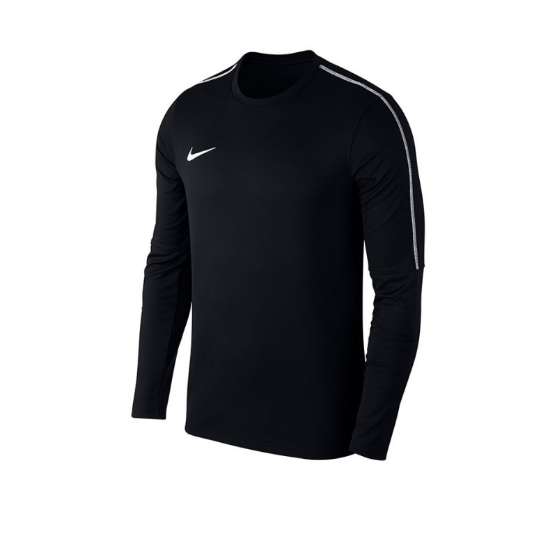 Nike Park 18 Crew Top Sweatshirt Schwarz F010 - schwarz