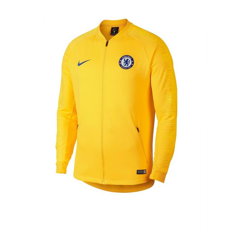 Nike FC Chelsea London Anthem Jacket Jacke F721 - gelb