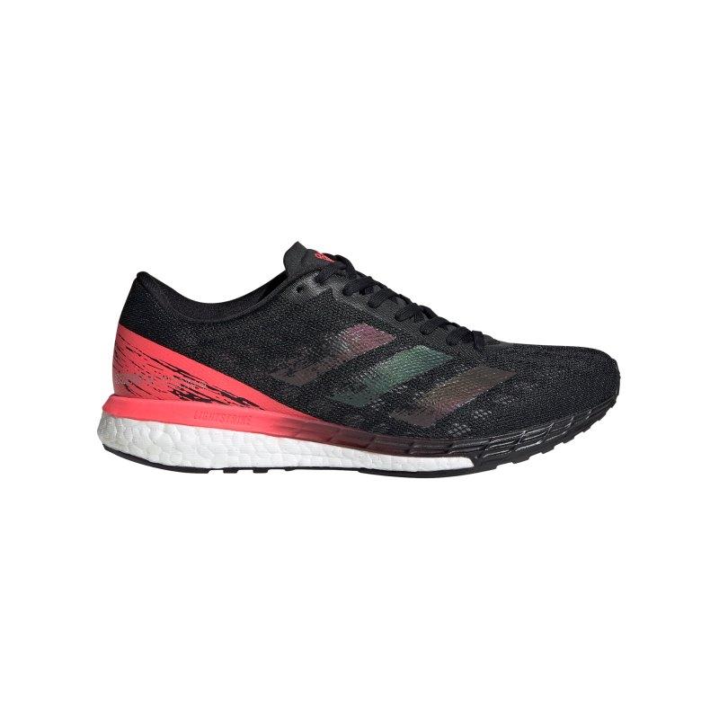 adidas adizero Boston 9 Running Damen Schwarz - schwarz