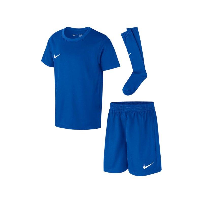 Nike Park Minikit Trikotset Kids Blau F463 - blau