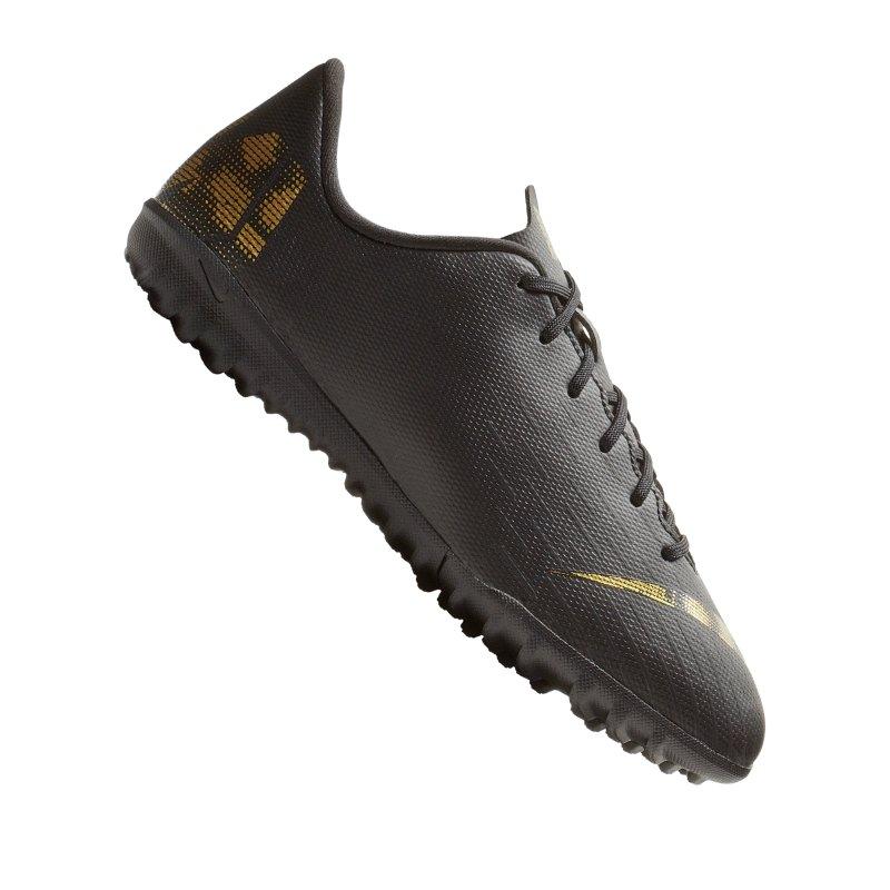 Nike Mercurial VaporX XII Academy TF GS Kids F077 - schwarz