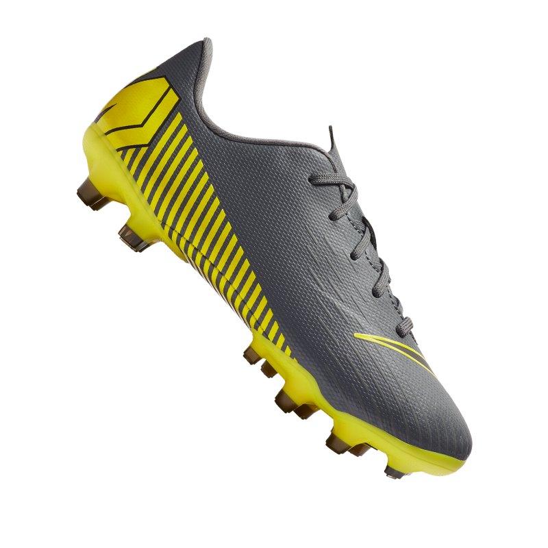Nike Jr Mercurial Vapor XII Academy MG Kids F070 - grau