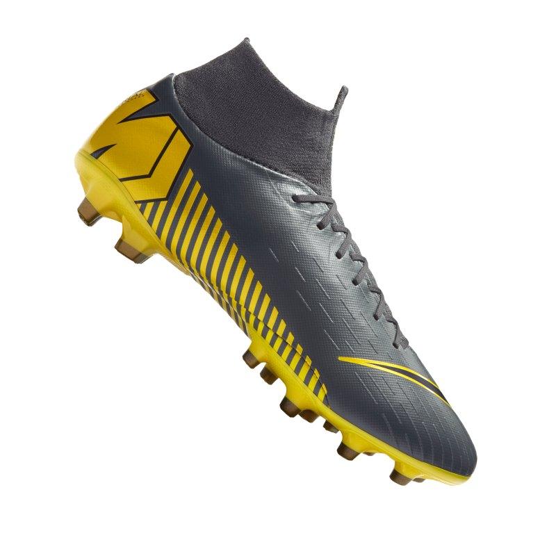 Nike Mercurial Superfly VI Pro AG-Pro Grau F070 - grau