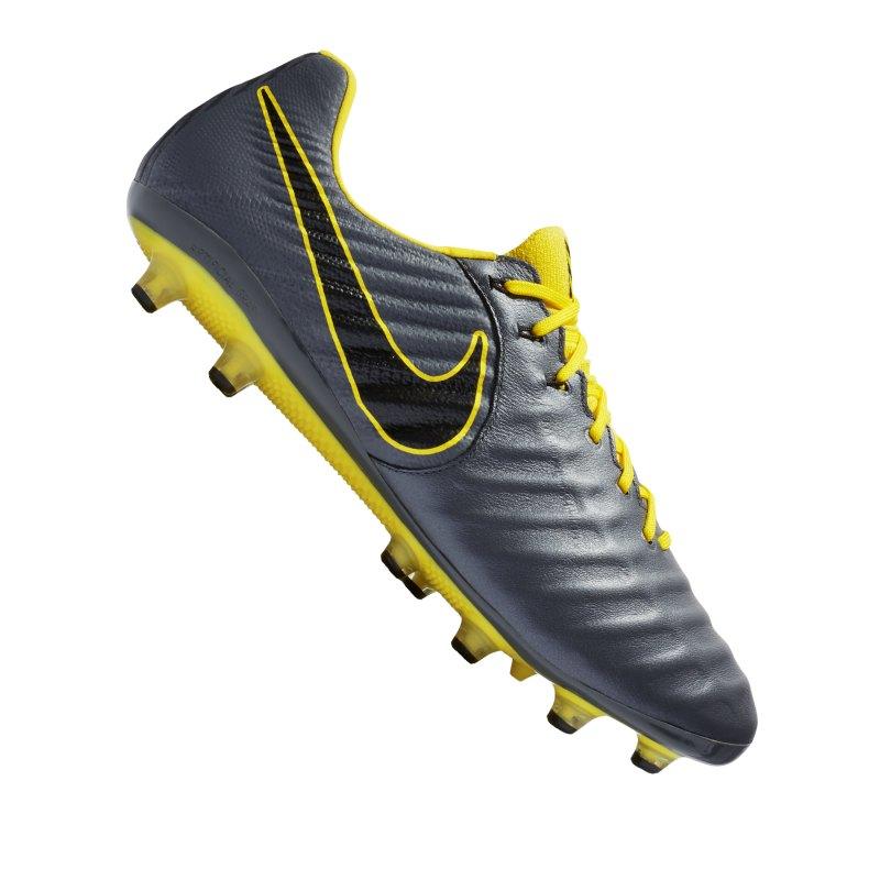 Nike Tiempo Legend VII Elite AG-Pro Grau F070 - grau